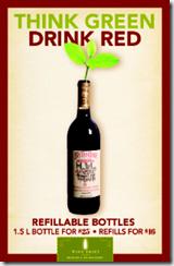Refillable bottle